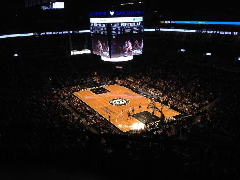 Seating view for Barclays Center Section 219 Row 10 Seat 4