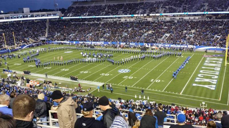 Kroger Field, section: 216, row: 13, seat: 26