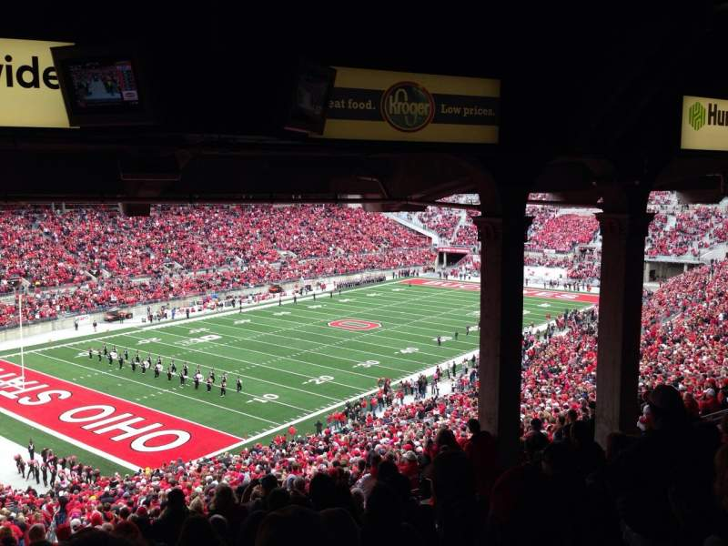 Seating view for Ohio Stadium Section 9B Row 11 Seat 10