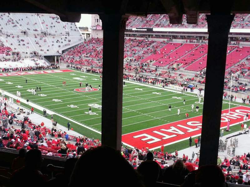 Seating view for Ohio Stadium Section 8B Row 11 Seat 22