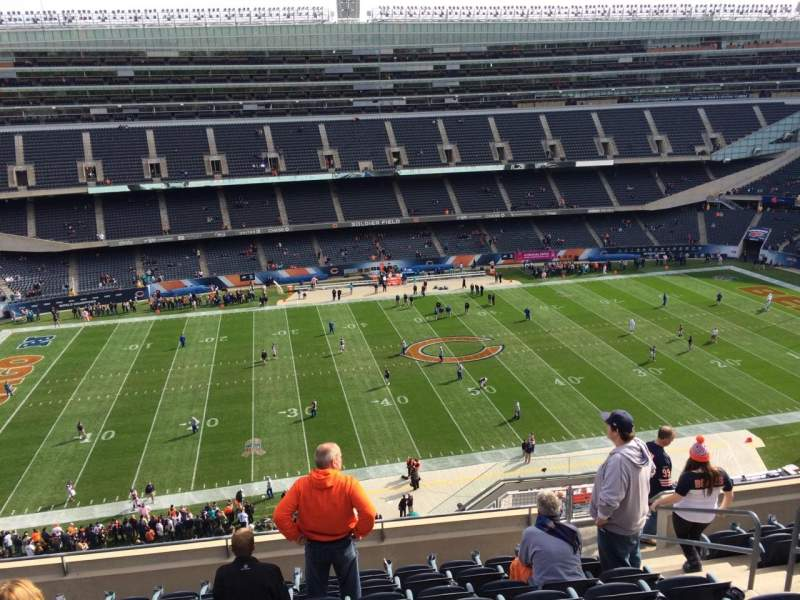 Seating view for Soldier Field Section 439 Row 9 Seat 15