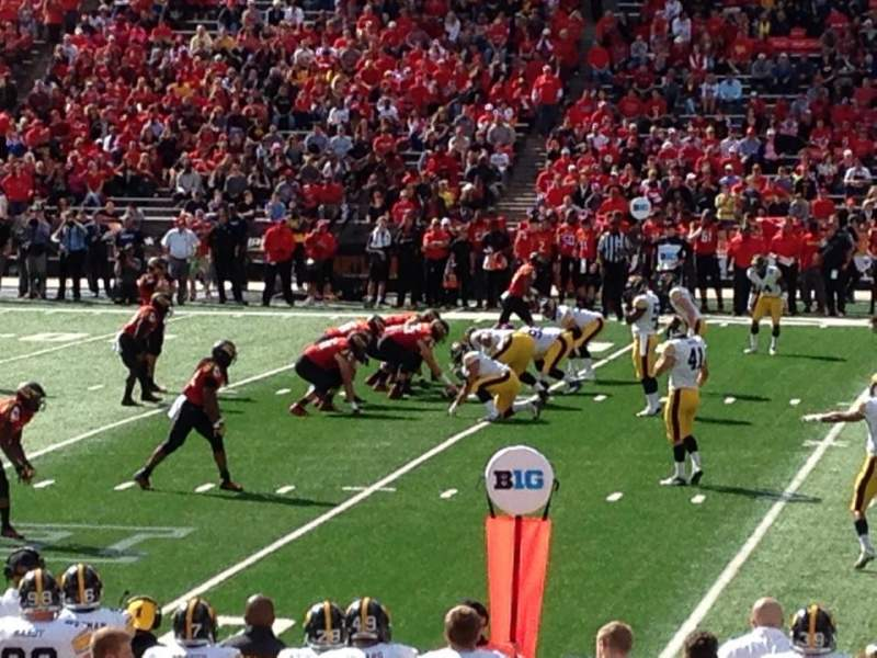 Seating view for Maryland Stadium Section 306 Row 5 Seat 4