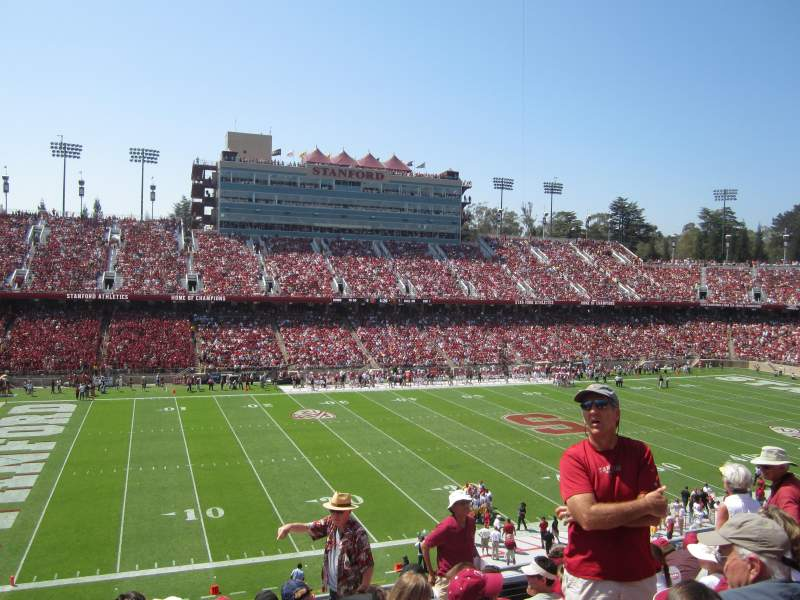 Stanford Stadium, section: 236, row: H, seat: 15