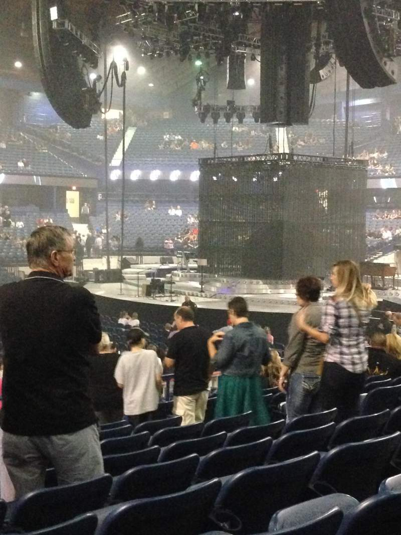 Seating view for Allstate Arena Section 111 Row K Seat 9