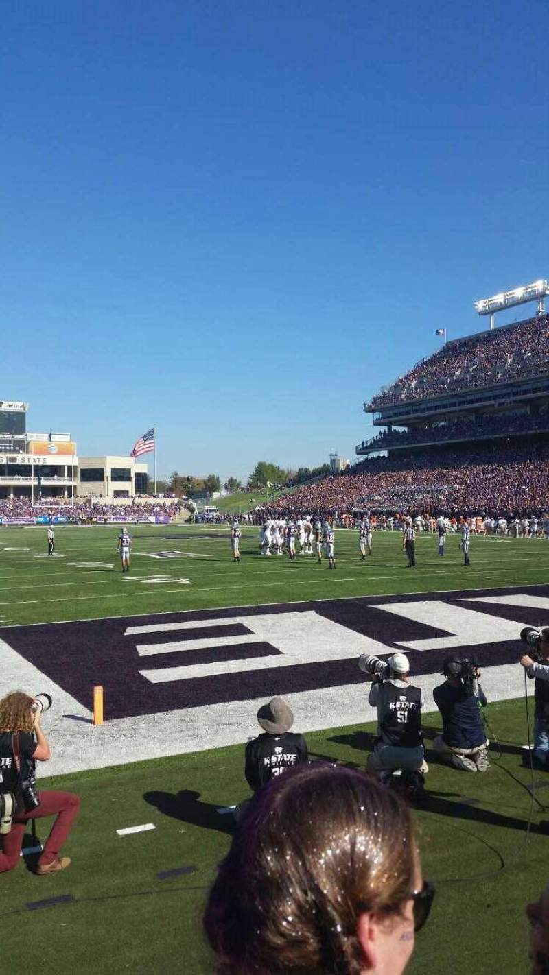Seating view for Bill Snyder Family Stadium Section 13 Row 2 Seat 23