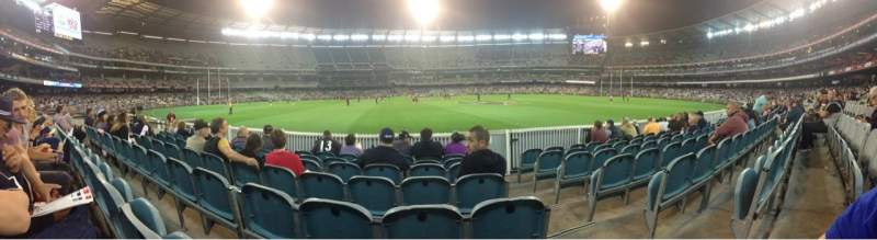Seating view for Melbourne Cricket Ground Section M21