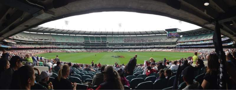 Seating view for Melbourne Cricket Ground Section M20