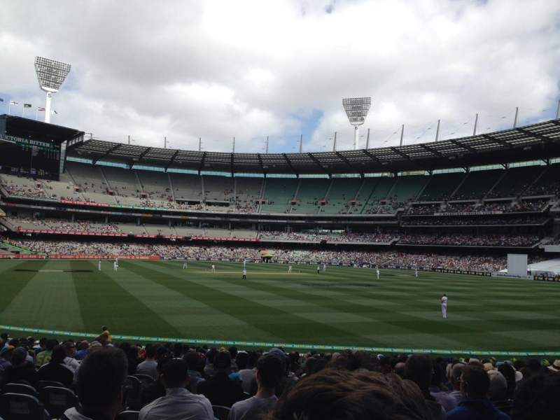 Seating view for Melbourne Cricket Ground Section M7