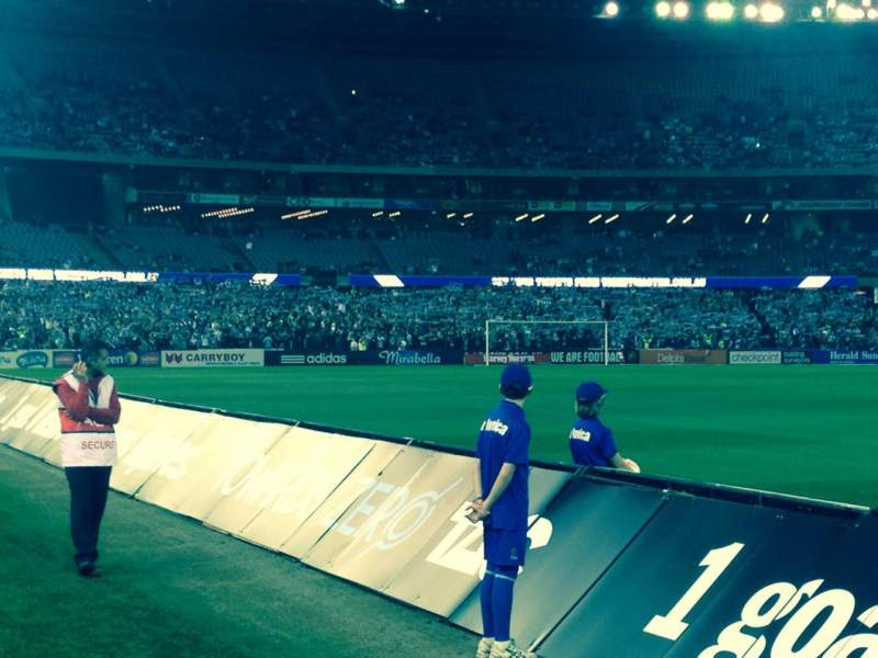 Seating view for Etihad Stadium (Melbourne) Section Aisle 33
