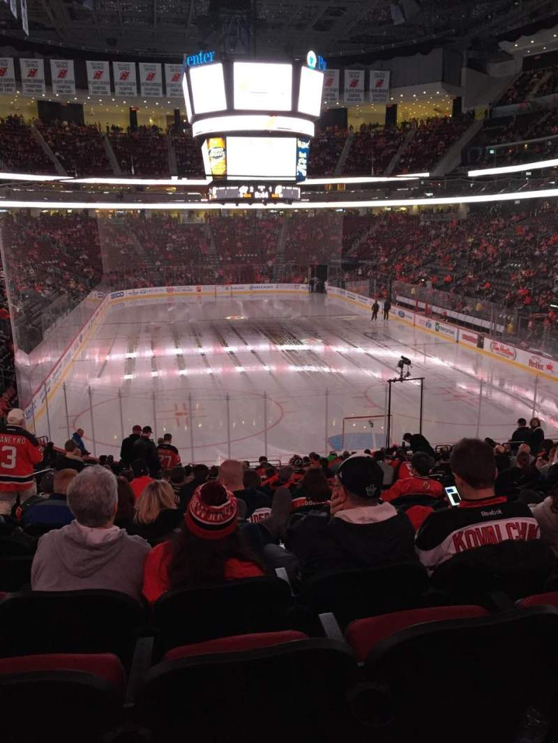 Seating view for Prudential Center Section 2 Row 21 Seat 14