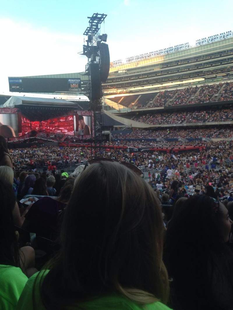 Seating view for Soldier Field Section 132 Row 18
