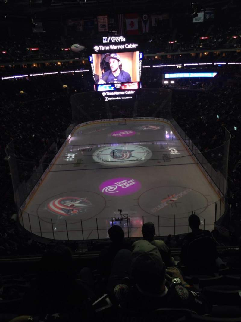 Seating view for Nationwide Arena Section 224 Row G Seat 8