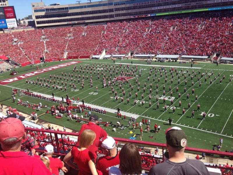 Seating view for Camp Randall Stadium Section CC Row 6 Seat 15