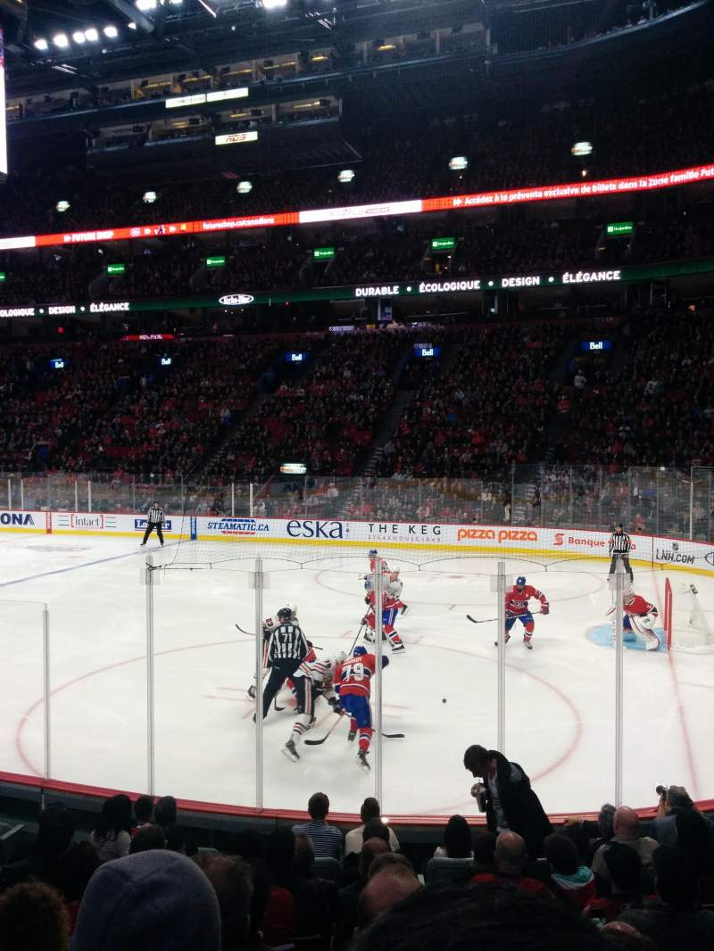 Seating view for Centre Bell Section 122 Row D Seat 9