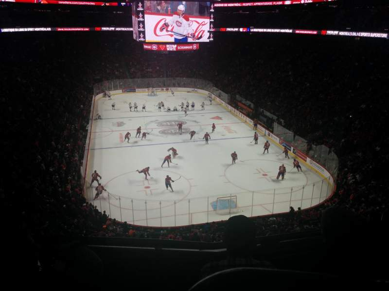 Seating view for Centre Bell Section 208 Row B Seat 2