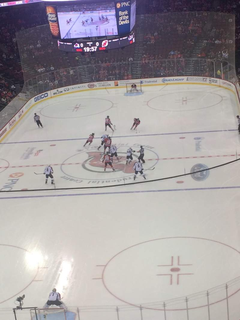 Seating view for Prudential Center Section 104 Row 9 Seat 9