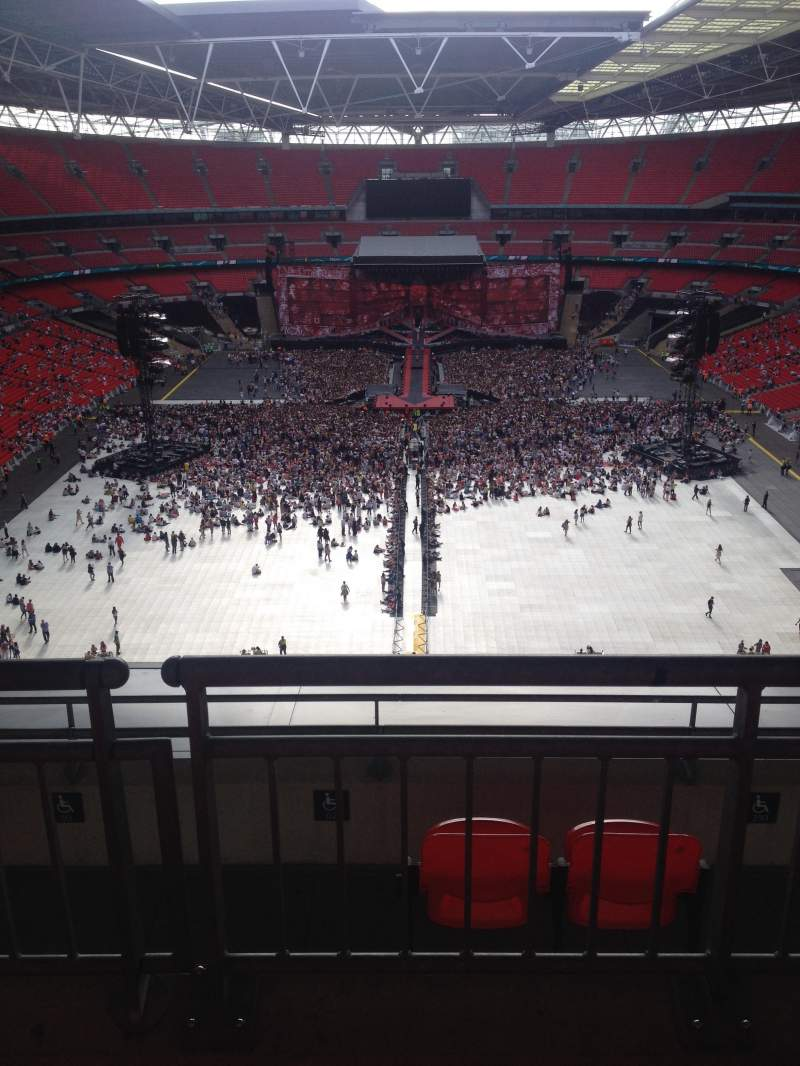 Seating view for Wembley Stadium Section 514 Row 16 Seat 2