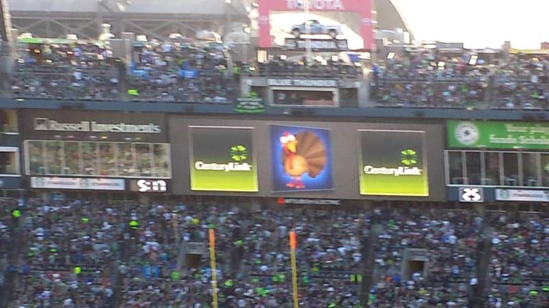 CenturyLink Field, section: 146, row: x, seat: 15