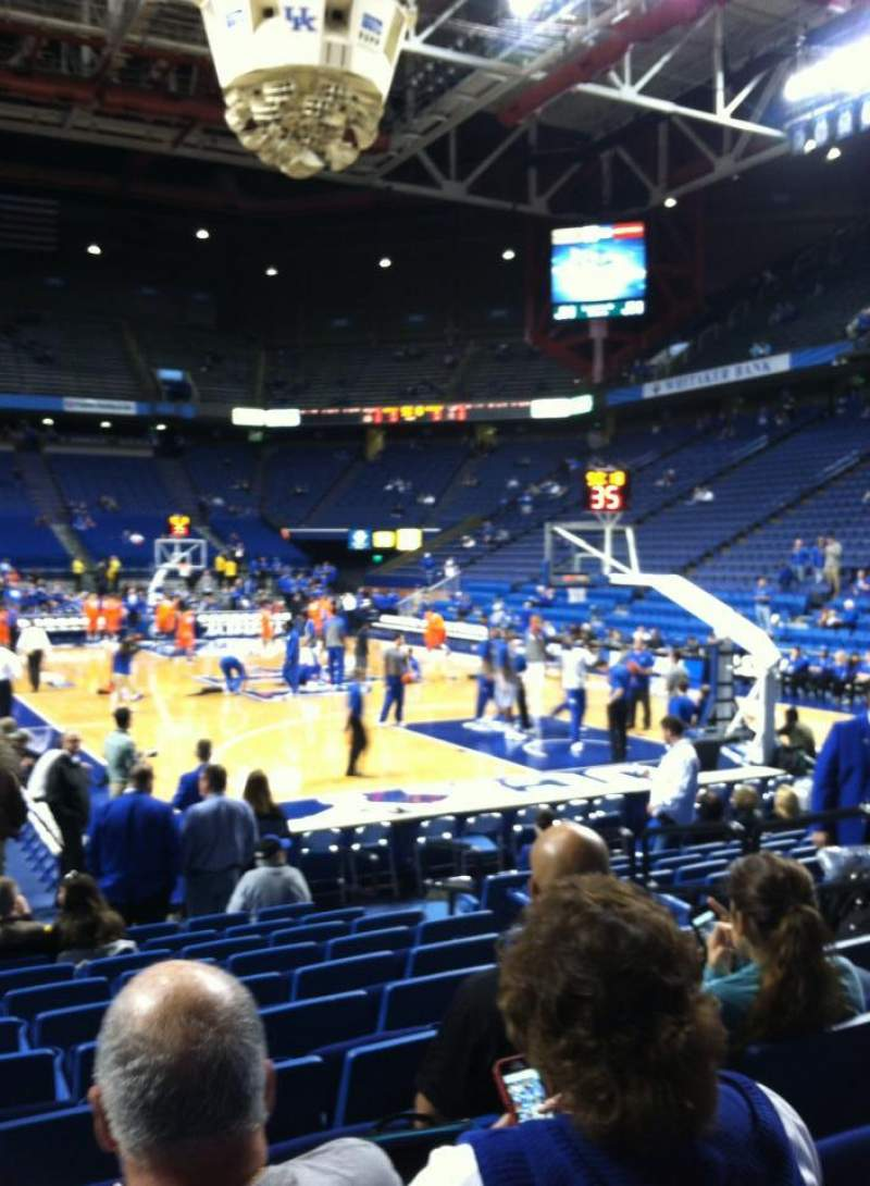 Seating view for Rupp Arena Section 24 Row LL Seat 7
