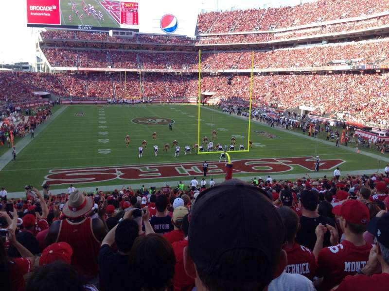 Seating view for Levi's Stadium Section 128 Row 31 Seat 13, 14