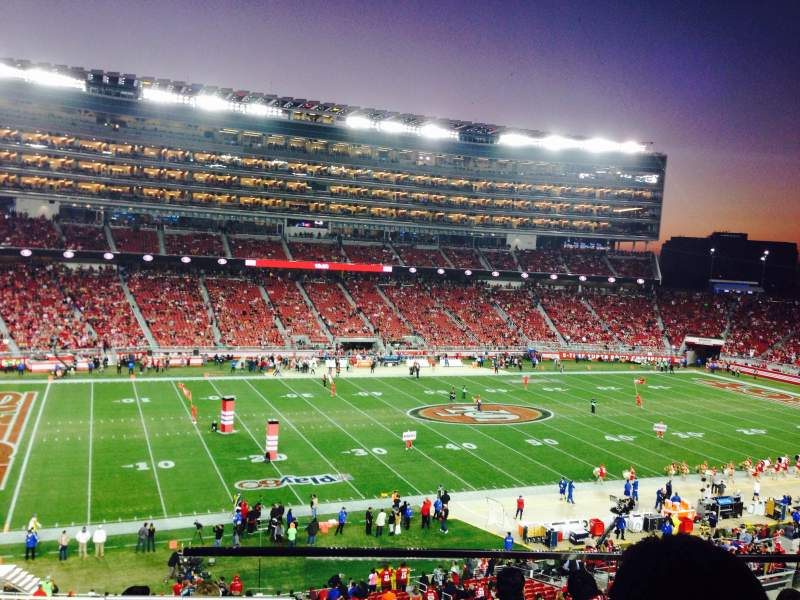 Seating view for Levi's Stadium Section 220 Row 7 Seat 9