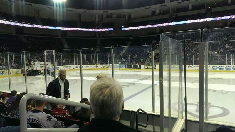 Seating view for Infinite Energy Arena Section 118 Row E Seat 17