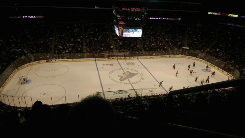 Seating view for Gila River Arena