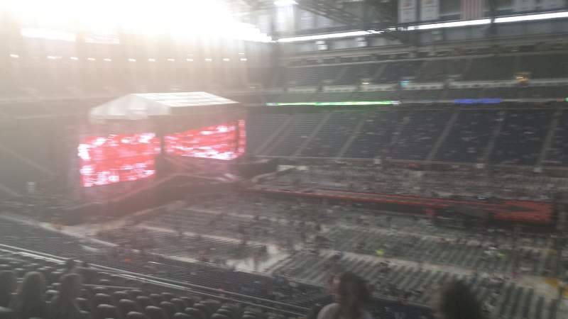 Seating view for Ford Field Section 209 Row 11 Seat 16
