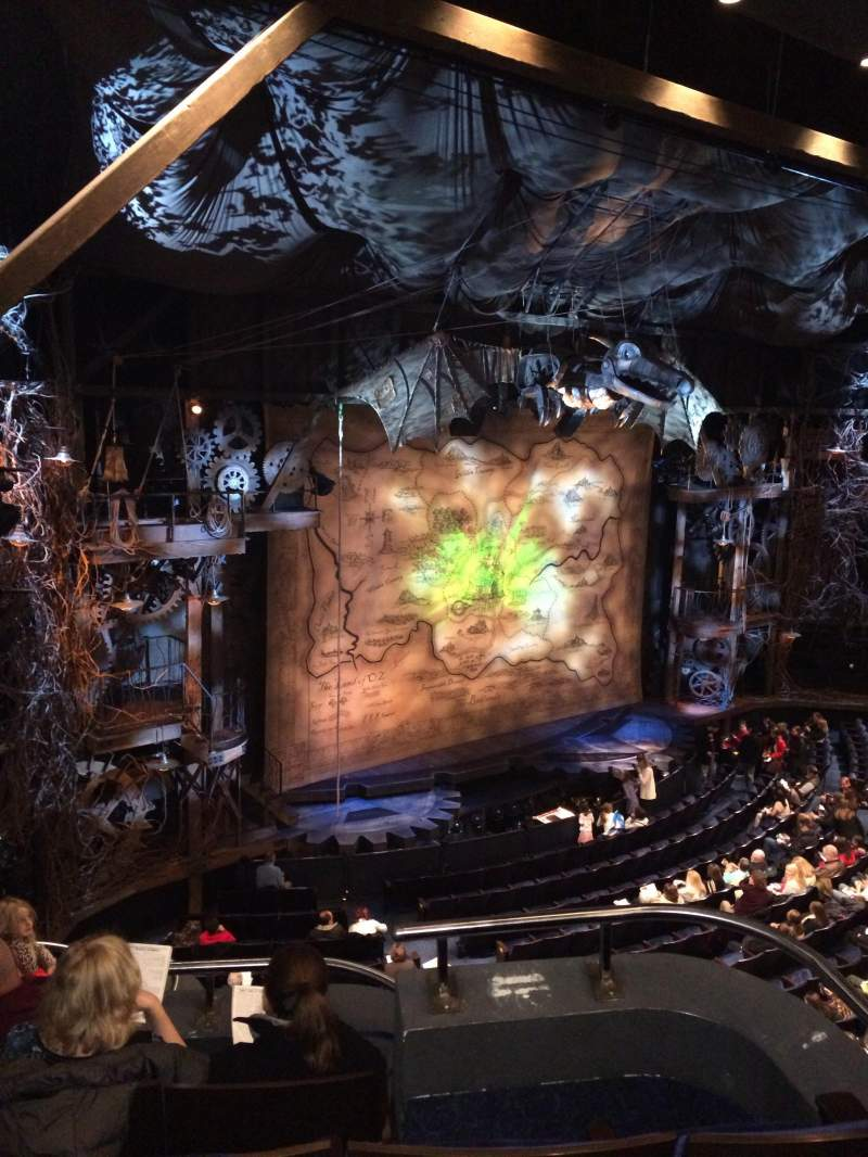 Gershwin Theatre, section: Front Mezzanine L, row: A, seat: 35