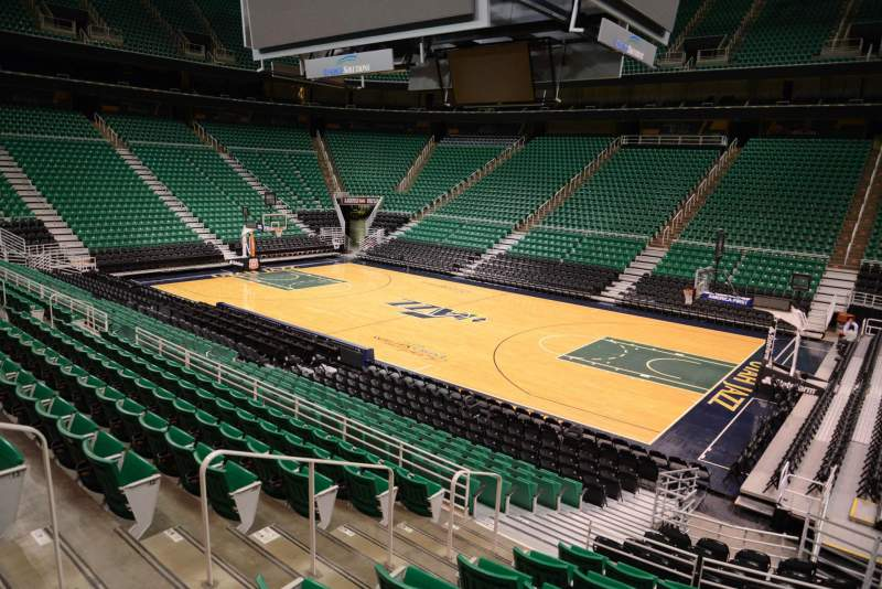 Seating view for Vivint Smart Home Arena Section 5 Row 15 Seat 5