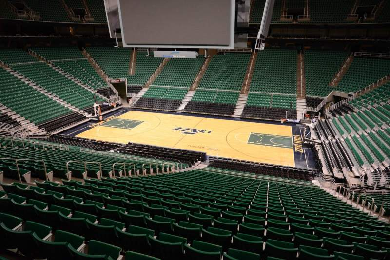 Seating view for Vivint Smart Home Arena Section 6 Row 29 Seat 11