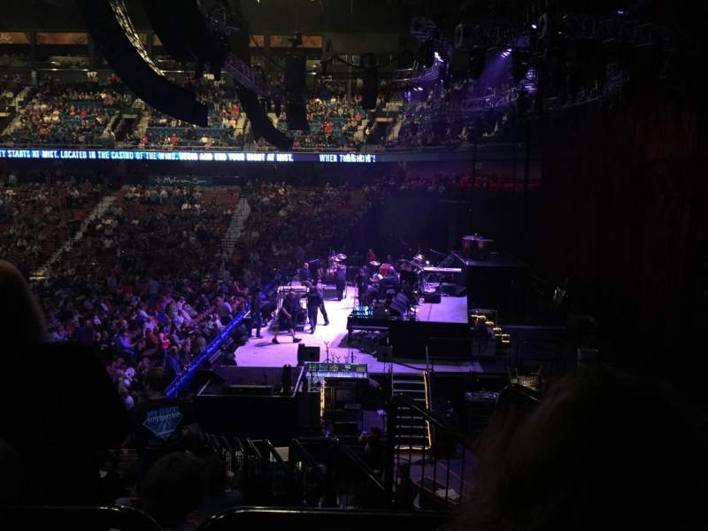 Seating view for Mohegan Sun Arena Section 14 Row T Seat 3