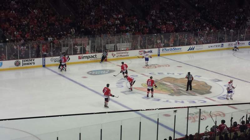 Seating view for United Center Section 203 Row 2 Seat 9