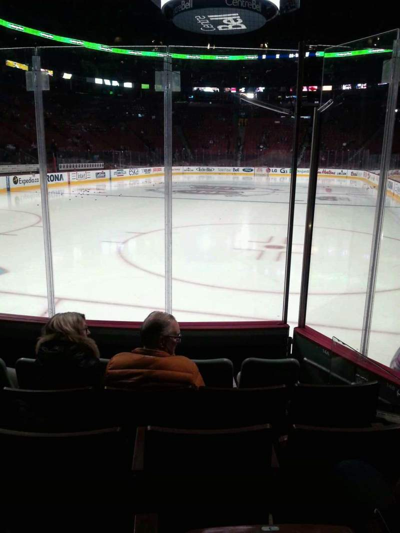 Seating view for Centre Bell Section 118 Row ee Seat 4