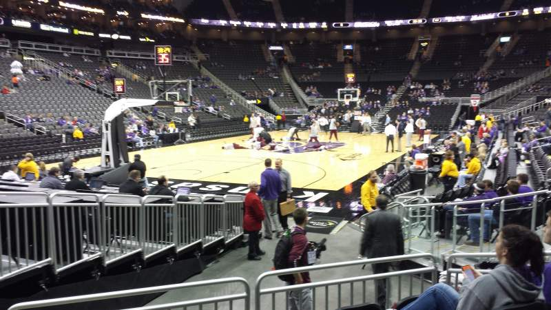 Seating view for Sprint Center Section 109 Row 6 Seat 14