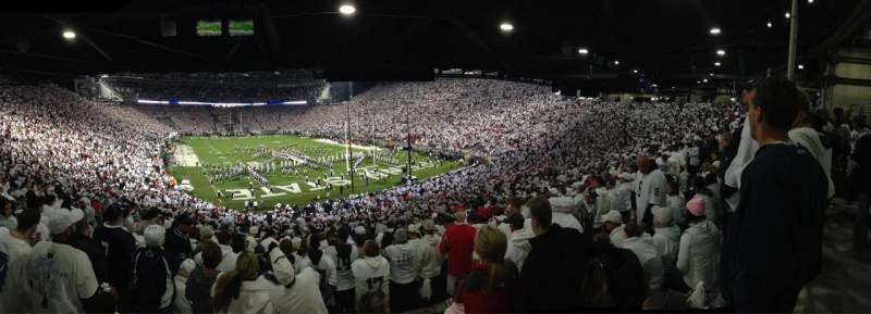 Seating view for Beaver Stadium Section NJ Row 50 Seat 1