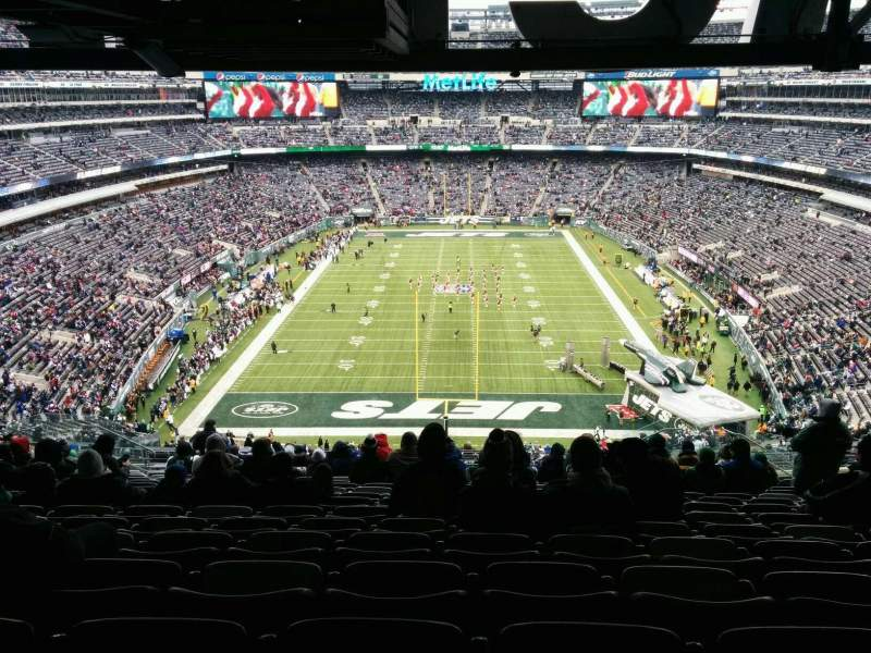Seating view for MetLife Stadium Section 226 Row 18 Seat 13