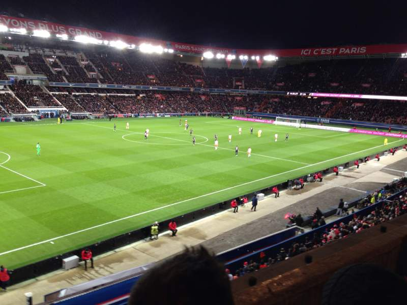Seating view for Parc des princes Section 303 Row 2 Seat 75