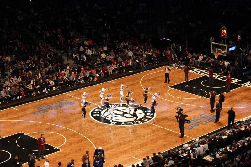Seating view for Barclays Center Section 212 Row 2 Seat 12