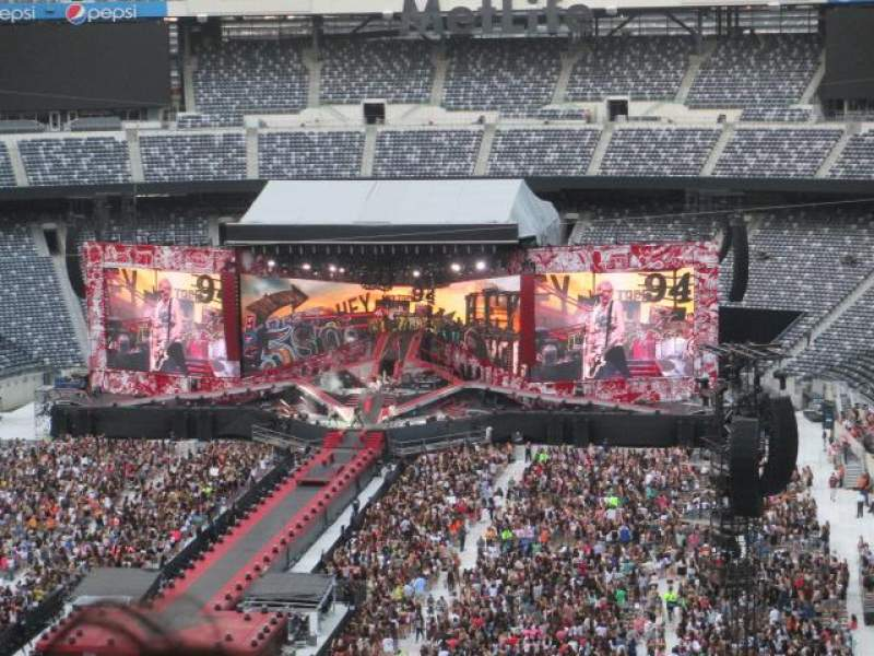 Seating view for MetLife Stadium Section 224B Row 18