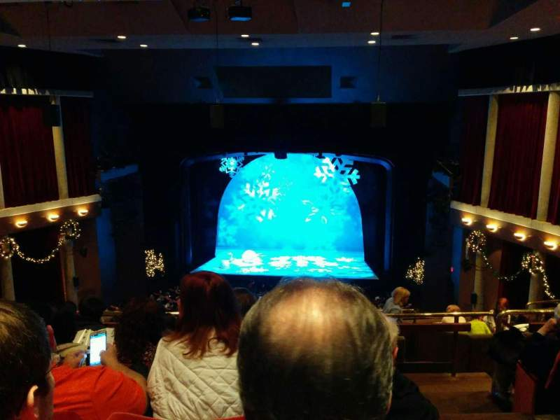 Seating view for Paper Mill Playhouse Section Mezzanine Row FF Seat 14