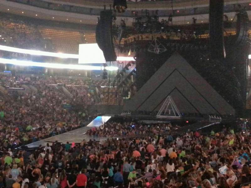 Garden Section Loge Row Seat Katy Perry Tour Prismatic World Shared
