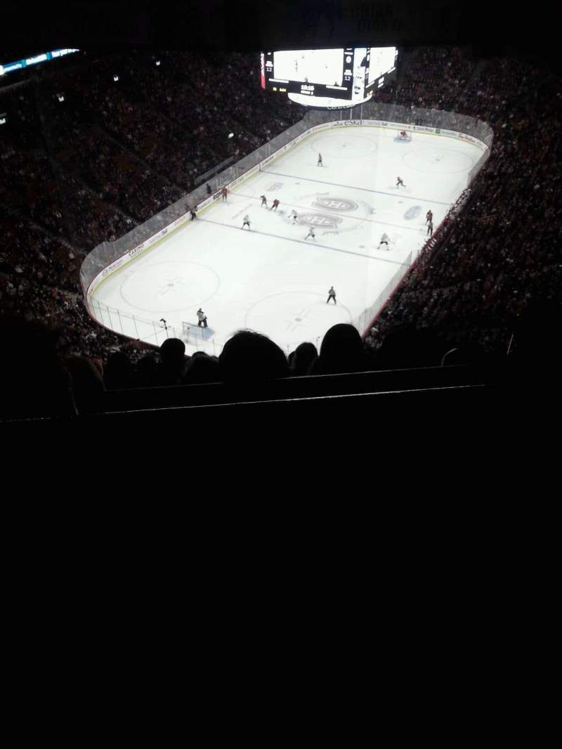 Seating view for Centre Bell Section 408