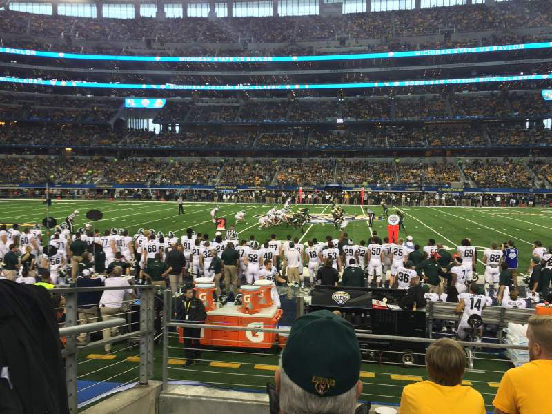 Seating view for AT&T Stadium Section C135 Row 4 Seat 15