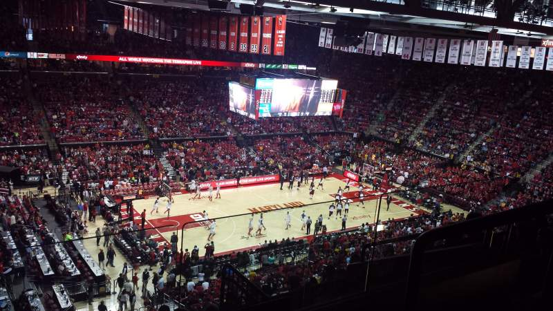 Seating view for Xfinity Center (Maryland) Section 211 Row 11 Seat 2