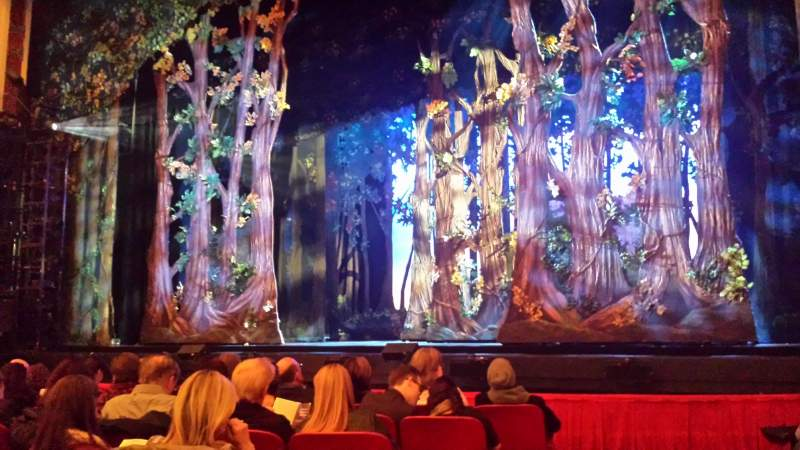 Cadillac Palace Theater, section: Orchestra R, row: G, seat: 2