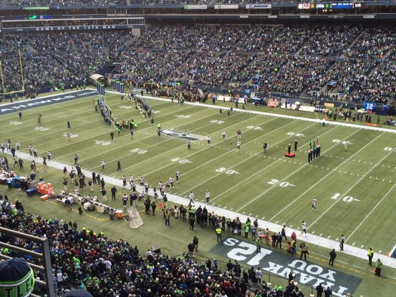 Seating view for CenturyLink Field Section 304 Row C