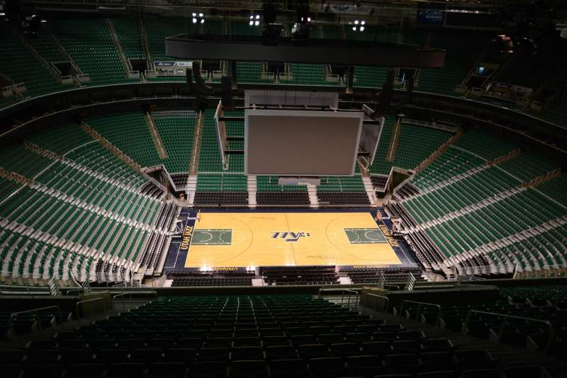 Seating view for Vivint Smart Home Arena Section 113 Row 20