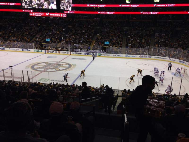 Seating view for TD Garden Section Club 137 Row E Seat 15