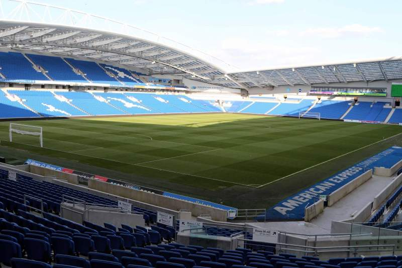 Seating view for American Express Community Stadium Section N1B Row T